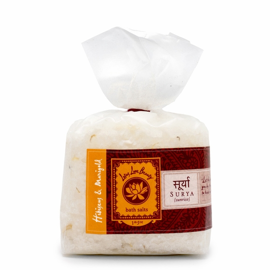 Lotus Love Beauty Bath Salts ( Surya (Hibiscus & Marigold) )