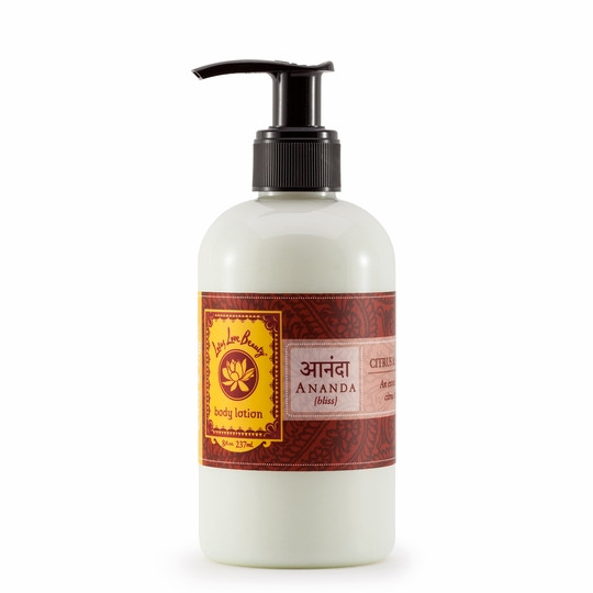 Lotus Love Beauty Body Lotion ( Ananda (Citrus & Saffron) )