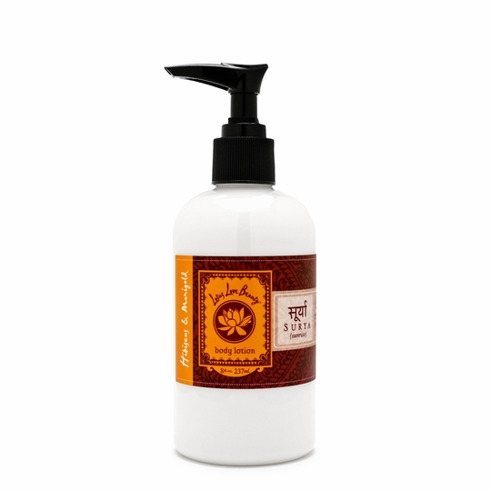 Lotus Love Beauty Body Lotion ( Surya (Hibiscus & Marigold) )