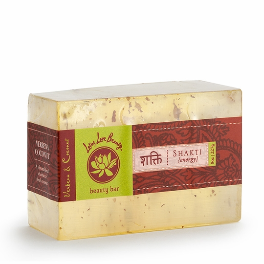 Lotus Love Beauty Glycerin Bar Soap ( Shatki (Verbena & Coconut) )