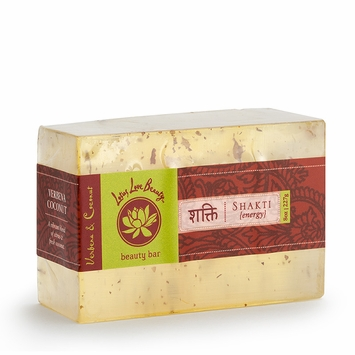 Lotus Love Beauty Glycerin Bar Soap in Shatki (Verbena & Coconut)