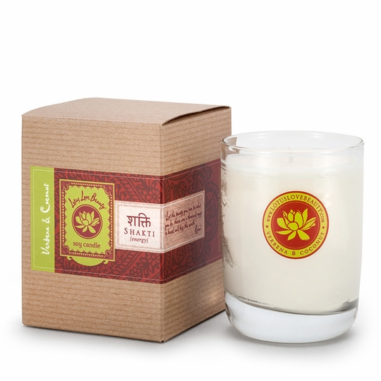 Lotus Love Beauty Kalava Soy Candle ( Shatki (Verbena & Coconut) )