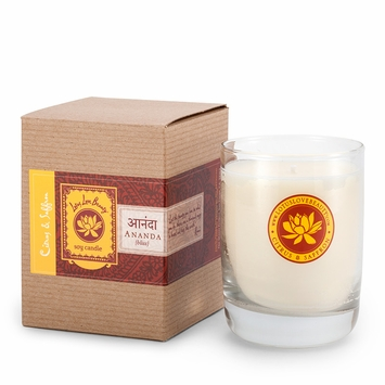 Lotus Love Beauty Kalava Soy Candle in Ananda (Citrus & Saffron)