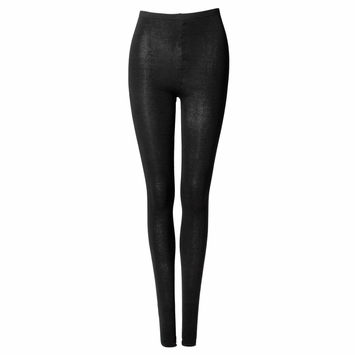 Organic Maggie's Organic Classic Warm Tights in Black
