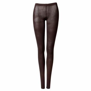 Organic Maggie's Organic Lightweight Fashion Tights in Chocolate Brown