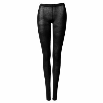 Organic Maggie's Organic Lightweight Fashion Tights in True Black