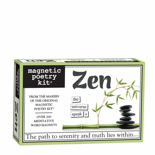 Magnetic Poetry Zen Kit