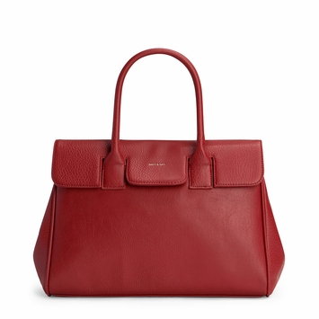 Eco Matt & Nat Clarke Bag in Bordeaux