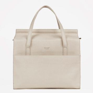 Eco Matt & Nat Hemlock Bag in Ash