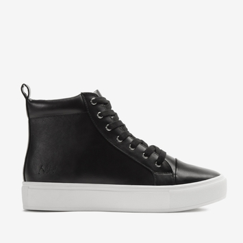 Matt & Nat Hightop Sneaker in Black