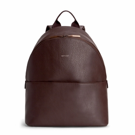Eco Matt & Nat July Backpack in Cocoa