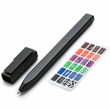 Moleskine Classic Cap Roller Pen Plus in Black