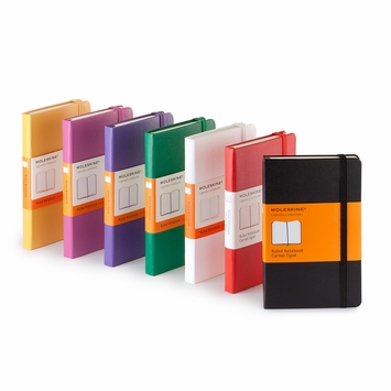 Moleskine Classic Pocket Ruled Notebook (3.5 x 5.5)