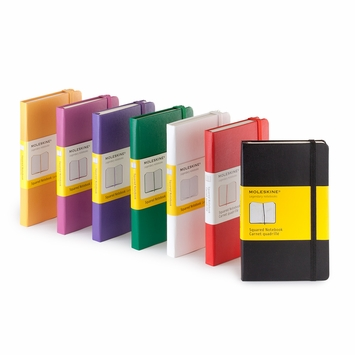 Moleskine Classic Pocket Squared Notebook (3.5 x 5.5)