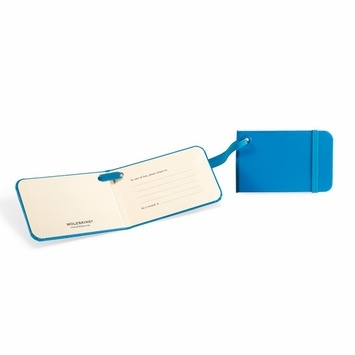 Moleskine Luggage Tags (3.75 x 2.25) in Sky Blue