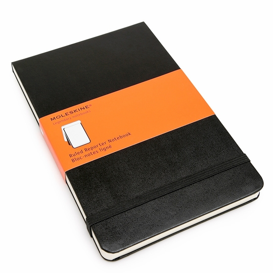 Moleskine Reporter Large Ruled Notebook (5 x 8.25)