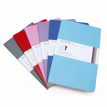 Moleskine Volant Large Ruled Notebook (Set of 2) (5 x 8.25)