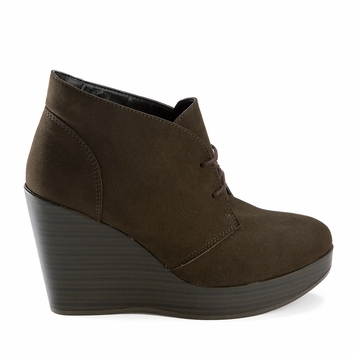 Novacas Tabron Wedge Boot in Brown