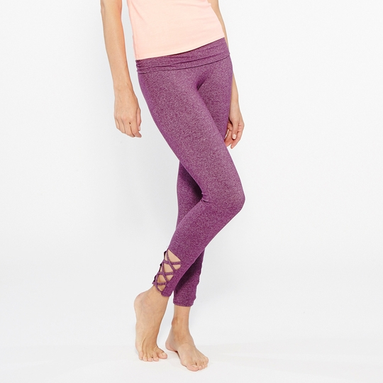 Om Girl Concept Legging ( Boysenberry )