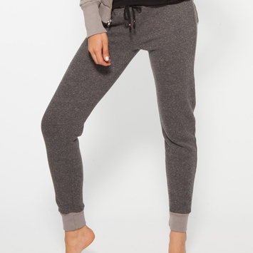 Om Girl Modern Jogger in Everyday Gray