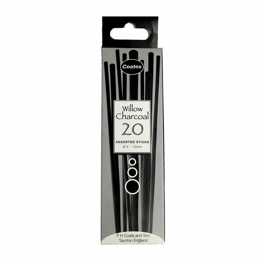 P.H. Coate Willow Charcoal Assorted Set (20pc)