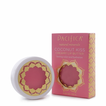 Pacifica Coconut Kiss Creamy Lip Butter in Shell