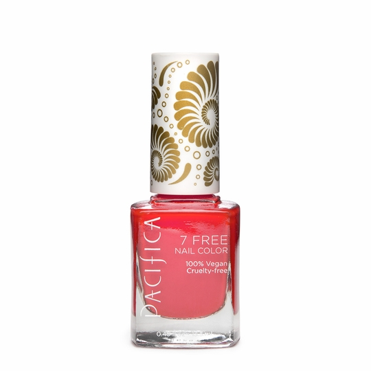Pacifica Vegan Nail Polish - Brights ( Fluorescent Sunset )