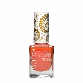 Pacifica Vegan Nail Polish - Brights in Tangerine Speedo