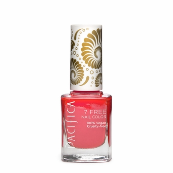 Pacifica Vegan Nail Polish - Brights in Fluorescent Sunset