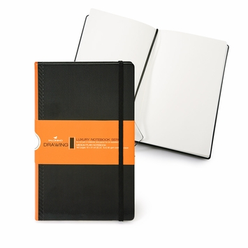 Palomino Luxury Medium Hard Cover Notebook (5 x 8.25) in Plain