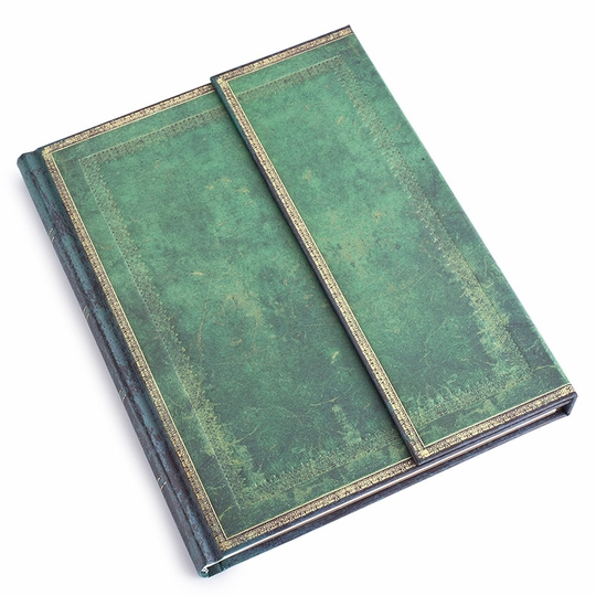 Paperblanks Desk Jade Wrap Journal (7 x 9) ( Ruled (lined pages) )
