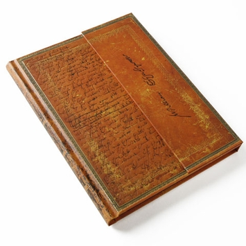 Paperblanks Embellished Shakespeare Manuscript Wrap (7 x 9) in Ruled (lined pages)