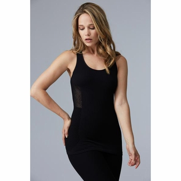 Phat Buddha Bleecker Tank in Black