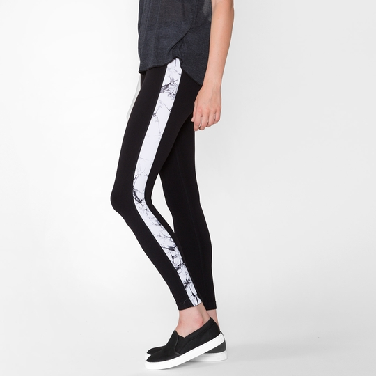 Phat Buddha Filmore Leggings ( Caviar/Star White )
