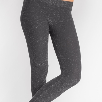 Phat Buddha Jane Glitter Legging in Nine Iron