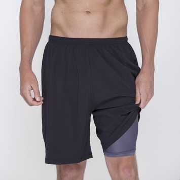 SALE / Phat Buddha Morton Short in Anthracite