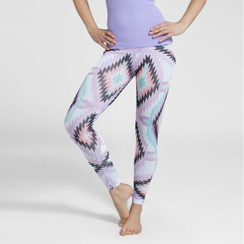 Phat Buddha Theatre District Leggings in Mice and Men Print