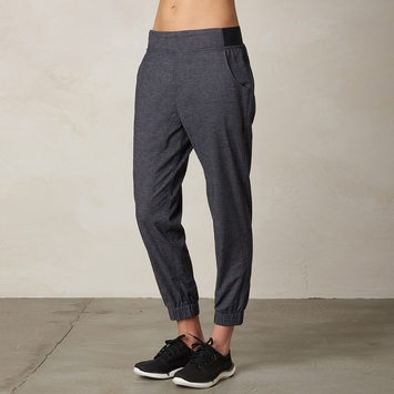 Hemp Prana Annexi Jogger Pant in Coal