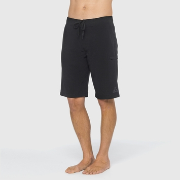 Eco Prana Basalt Studio Short in Black