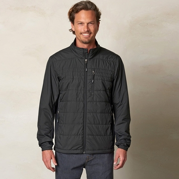 Eco Prana Blaise Active Jacket in Black