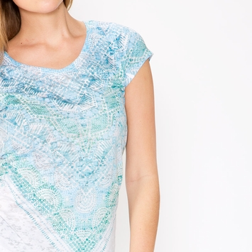 Prana Braiden Top in Retro Teal