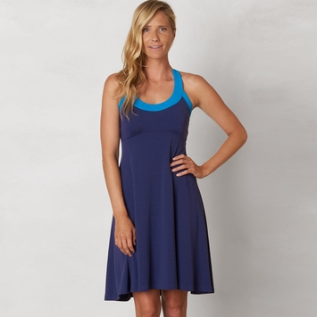 Eco Prana Cali Dress in Indigo