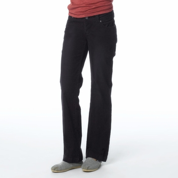 Organic Prana Canyon Cord Pant in Black
