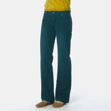 Organic Prana Canyon Cord Pant in Deep Teal