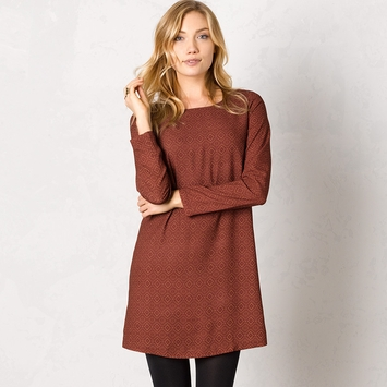 Prana Cece Dress in Pomegranate
