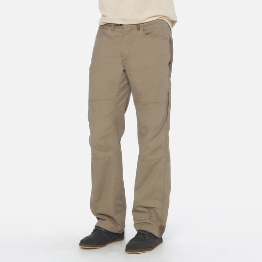 Prana Continuum Stretch Canvas Climbing Pant ( Dark Khaki )