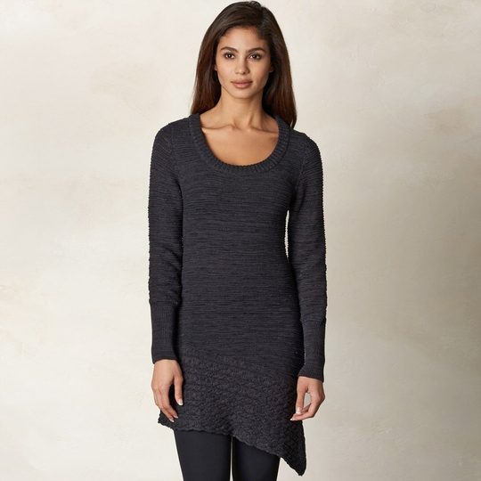 Prana Felicia Tunic Sweater ( Coal )