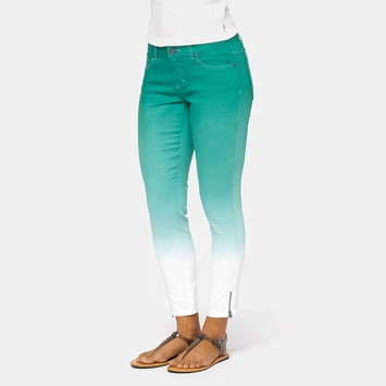 Organic SALE / Prana Jett Capri in Dynasty Green