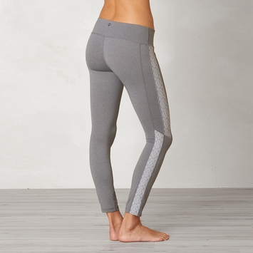 Prana Lennox Legging in Heather Grey
