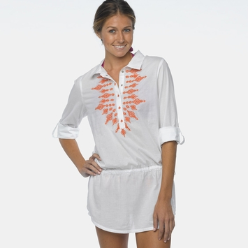 Organic Prana Leta Tunic in White